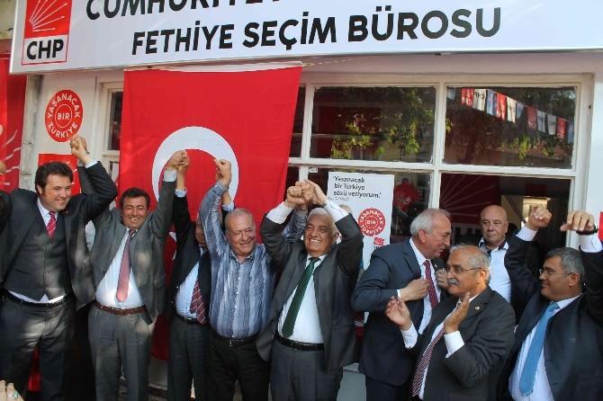 CHP Fethiye Seçim Bürosu Açıldı