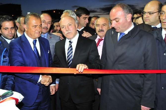Fatih Terim, Erzurum Bşb Yüksek İrtifa Kamp Merkezi Açılışına Katıldı