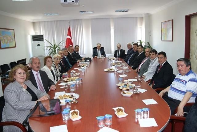 Vali Ali Fidan İçin Ankara'dan Geldiler