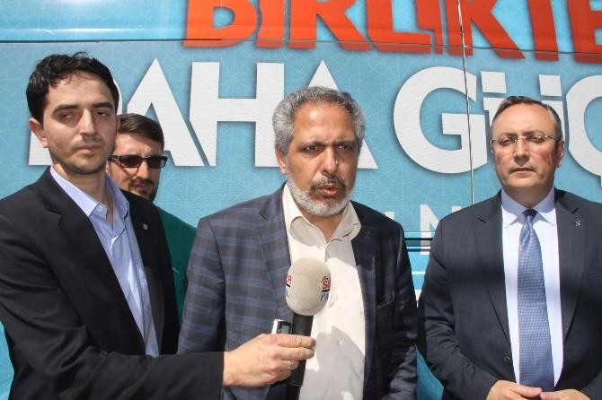 """Nasır: """"HDP'nin Barajı Aşamayacağına Adım Gibi Eminim"""""""