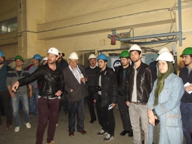 İstanbul Teknik Üniversitesi Küre'yi Ziyaret Etti