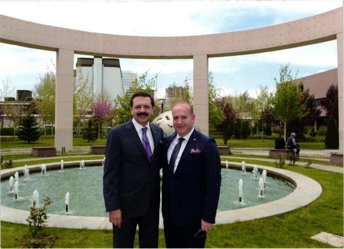 TOBB Başkanı Hisarcıklıoğlu'ndan Eskipazar İhtisas OSB'ye Tam Destek