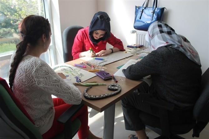 Karaman'da Gelenekten Geleceğe Kaat-ı Sanatı Öğretiliyor