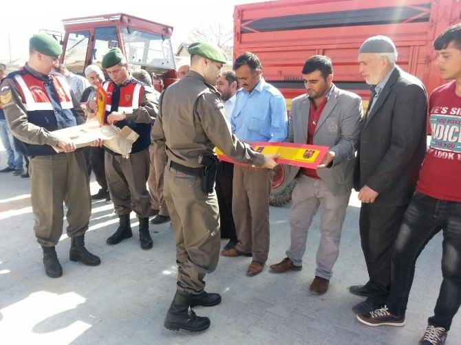 Jandarma'dan Çiftçilere Reflektör