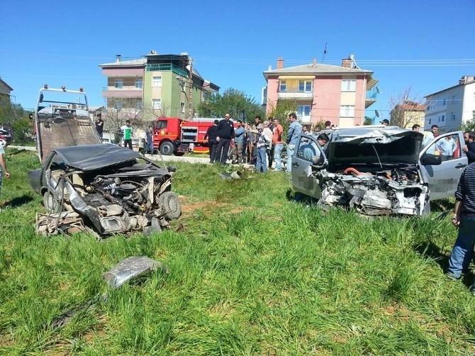 Hüyük'te Trafik Kazası: 3 Yaralı