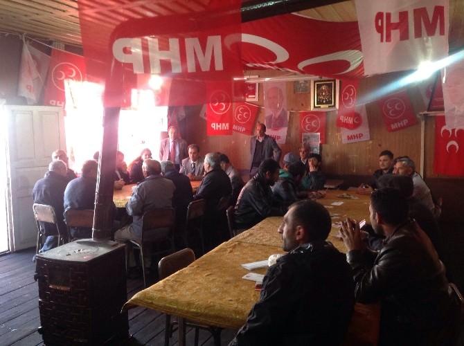 MHP Milletvekili Adayı Gökçek Susuz'da