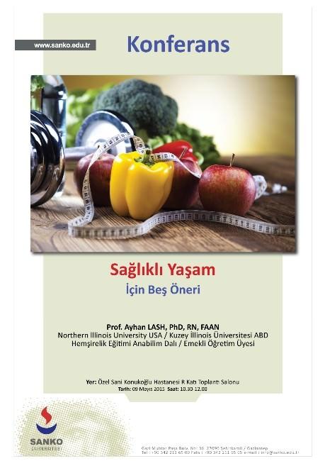 Sanko Üniversitesinde Halka Açık Konferans