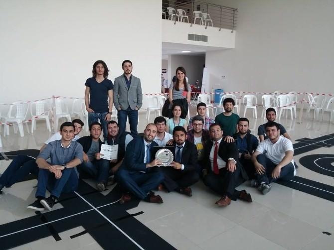 SDÜ Teknoloji Kulübü, Robot Yarışması'nda İkinci Oldu