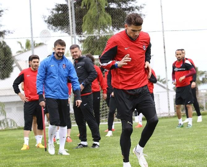 Trabzonspor'da ÇAYKUR Rizespor Maçı Hazırlıkları