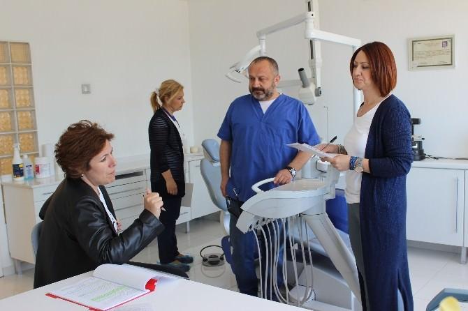 Zonguldak'ta Diş Hekimleri Denetleniyor