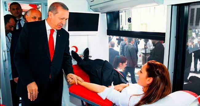 'Kan vermeyi ibadet telakki etmeliyiz'