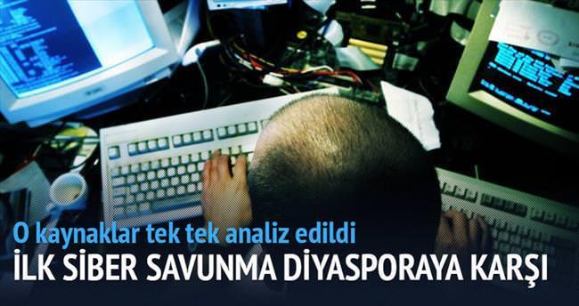 İlk siber savunma diyasporaya karşı