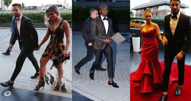 Fenerbahçeli futbolcuların düğün modası