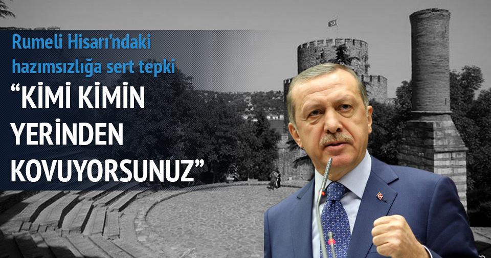 Erdoğan'dan mescid hazımsızlığına sert cevap