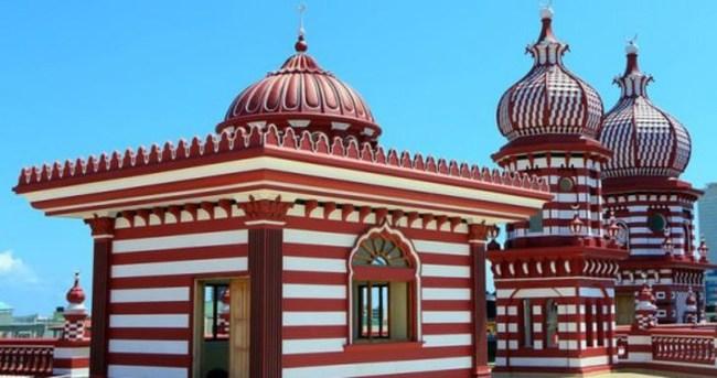 Sri Lanka'da İslam'ın sembolü: Kırmızı Mescit