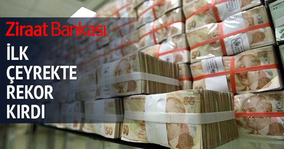 Ziraat Bankası 1. çeyrekteki karını açıkladı