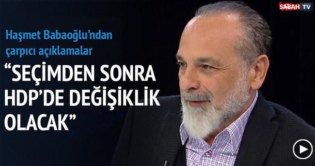 Seçimden sonra HDP'de değişiklik olabilir