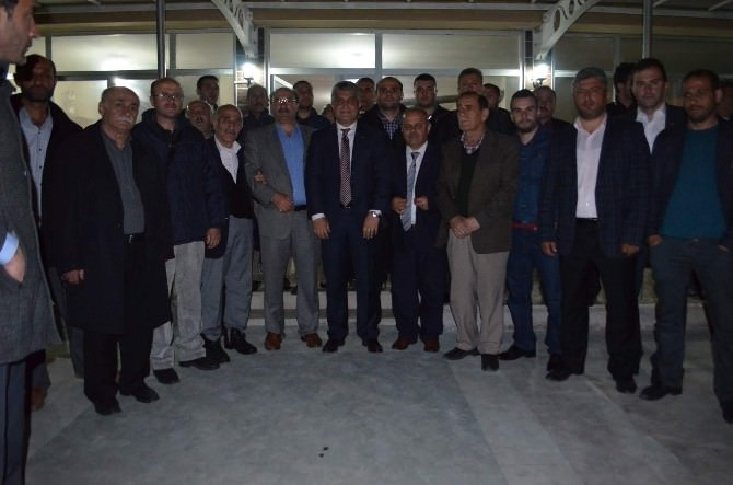 AK Parti Trabzon Milletvekili Adayları Seçim Çalışmalarını Sürdürüyor