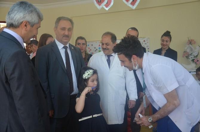 Mersin'de Anaokulu Öğrencilerine Yönelik Ağız Diş Sağlığı Taraması Başladı