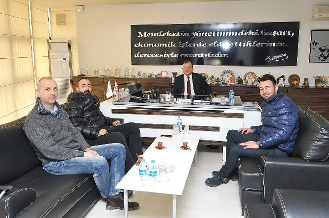 Hitok Yöneticileri TSO'yu Ziyaret Etti