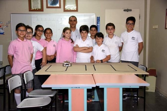 Gazi Ortaokulu TUBİTAK Bilim Fuarına Hazırlanıyor