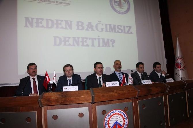 """Trabzon'da """"Neden Bağımsız Denetim ?"""" Konulu Panel"""