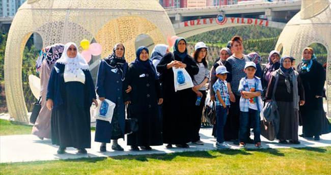 Haymanalı kadınlar Ankara'yı gezdi