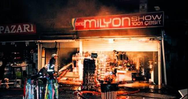 'Milyon'luk yangın Kızılay'ı korkuttu