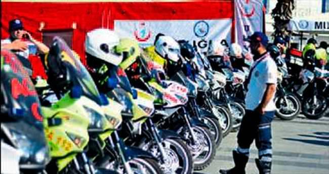 Motosikletli 112 Rallisi sona erdi