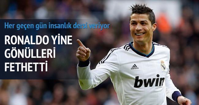 Ronaldo Nepal'e yedi milyon euro bağışladı