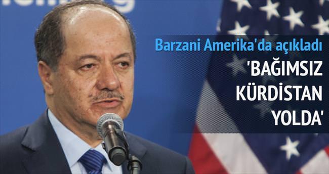 Barzani: Bağımsız Kürdistan yolda