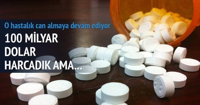 Kanser ilaçlarına 100 mİlyar $