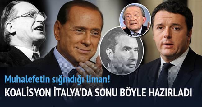 Koalisyonlar İtalya'yı mahvetti