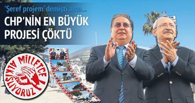 Özcan'ın şeref projesi yıkıldı