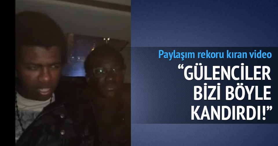 'Gülenciler bizi kandırdı' videosu paylaşım rekoru kırdı