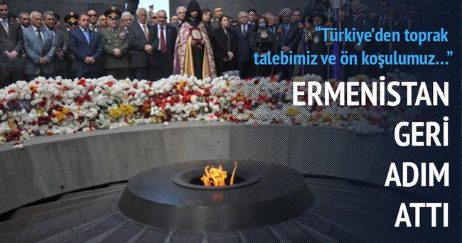 Ermenistan'dan flaş 'Türkiye' açıklaması