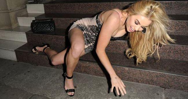 Melissa Reeves alkolü fazla kaçırınca dağıttı