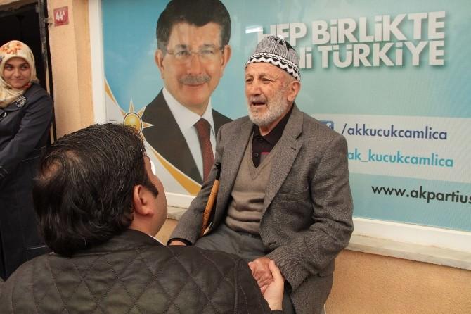 AK Parti'li Aday Şener, Üsküdar'da Çalışmalarını Sürdürdü