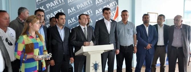 MHP Ve CHP'den İstifa Edip AK Parti'ye Üye Oldular