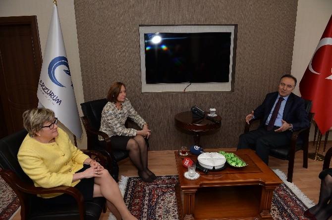 Lüksemburg Ve Finlandiya Büyükelçilerinden Vali Altıparmak'a Ziyaret