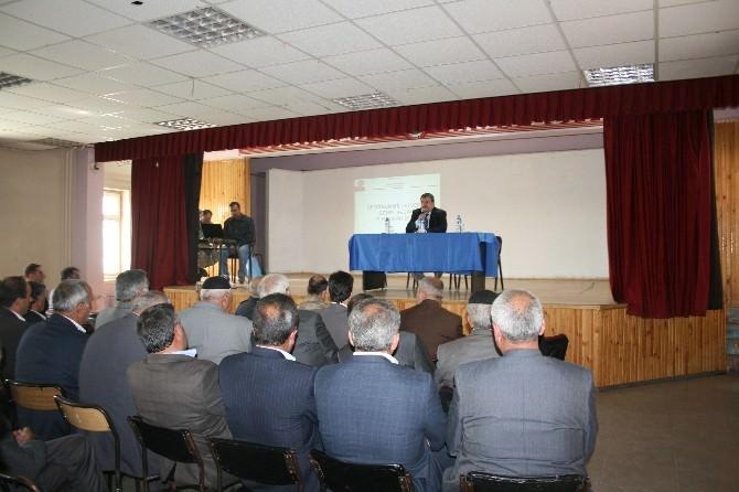 Pasinler'de Seçim Güvenliği Toplantısı Yapıldı