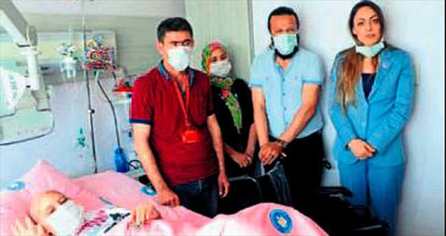 MHP adayı Gül Kamer'e el uzattı
