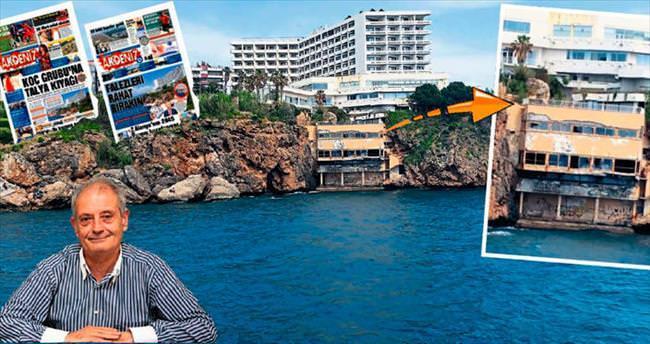 Bu çirkin manzara Antalya'ya reva mı?