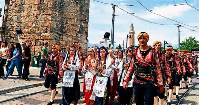 Yörük festivali coşkusu