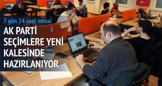AK Parti'nin dijital kalesi