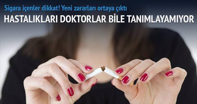 Sigara, yeni hastalıklar doğuruyor