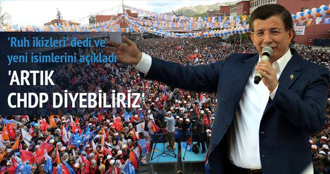 CHP ve HDP'ye 'CHDP' diyebiliriz