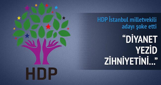 HDP milletvekili adayından Diyanet'e ağır sözler