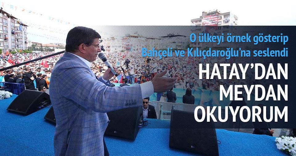 Davutoğlu, Kılıçdaroğlu ve Bahçeli'ye meydan okudu