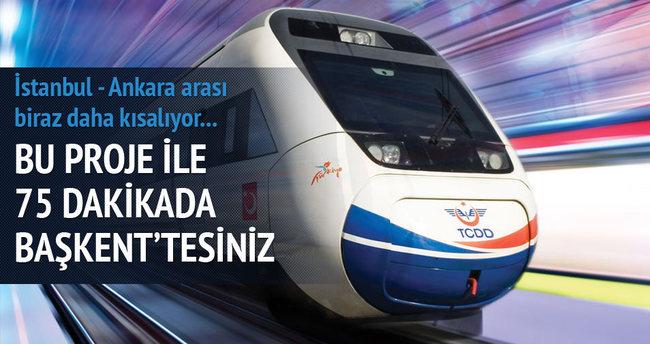 İstanbul - Ankara arası 75 dakika olacak
